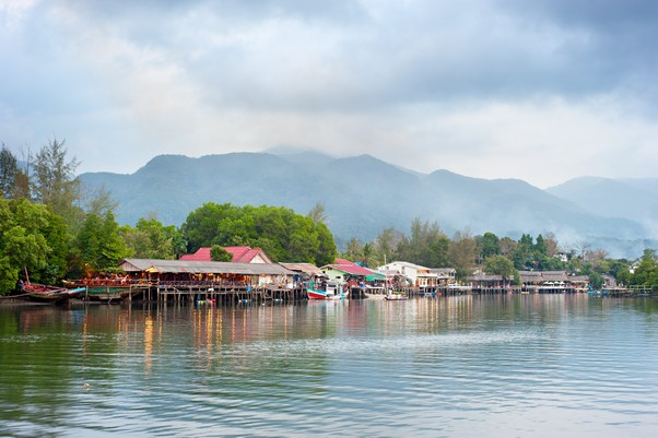 Thai koh chang village